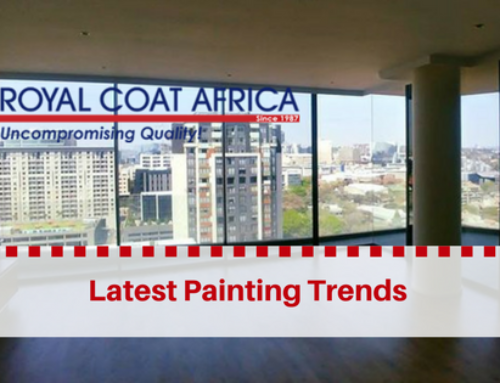 Latest Painting Trends: Finishes and Cementitious Coatings