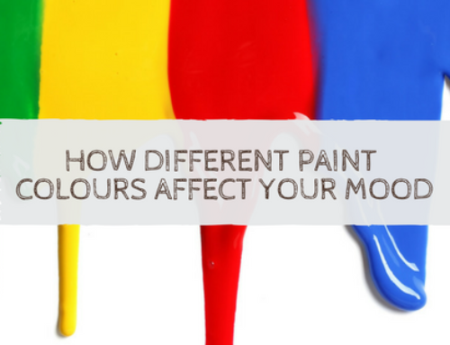 How Different Paint Colours Affect Your Mood